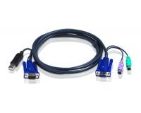 ATEN KVM Cable 2L-5502UP 1,8m