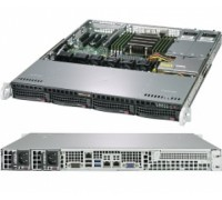 Готовый сервер Supermicro AS-1013S-MTR / AMD EPYC 7302P / 2x8GB DDR4 / 2x4000GB SATA / 256GB M.2