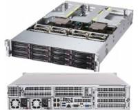 Готовый сервер Supermicro AS-2023US-TR4 / 2xAMD EPYC 7252 / 2x8GB DDR4 / 1000GB SATA