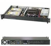 Готовый сервер Supermicro SYS-5019C-L / Intel Xeon E-2236 / 2x8GB DDR4 / 2x2000GB SATA / 256GB M.2