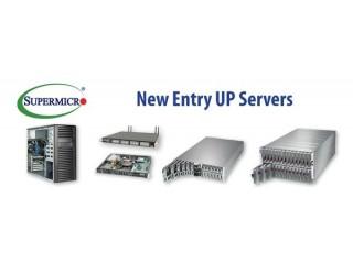 Supermicro представляет новые многофункциональные UP-серверы для недорогостоящих базовых систем