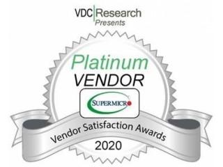 Supermicro получила «платину» в международном рейтинге разработчиков решений для IoT и граничных вычислений