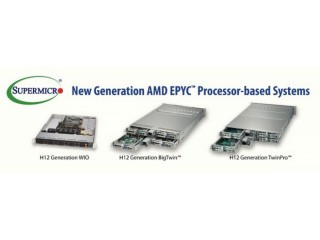 Supermicro представляет системы на базе процессоров AMD EPYC™ 7002, обеспечивающие радикальную трансформацию современных ЦОД