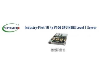 Supermicro выводит на рынок инновационный продукт - сервер 3-го уровня соответствия NEBS