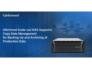 Сетевое устройство хранения данных Infortrend с горизонтальным масштабированием