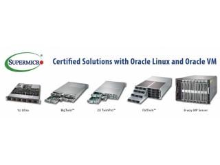 Supermicro расширяет сотрудничество c Oracle с представляя лучшие в своем классе серверные решения
